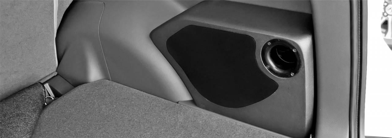 BOX PORT 6IN CR-V 2012 - 2017 BLACK