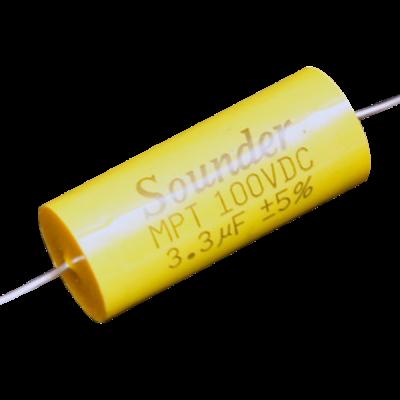 SOUNDER CAPACITOR MPT 3.3MFD/250V