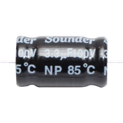 SOUNDER CAPACITOR BIPOLAR 56MFD/100V