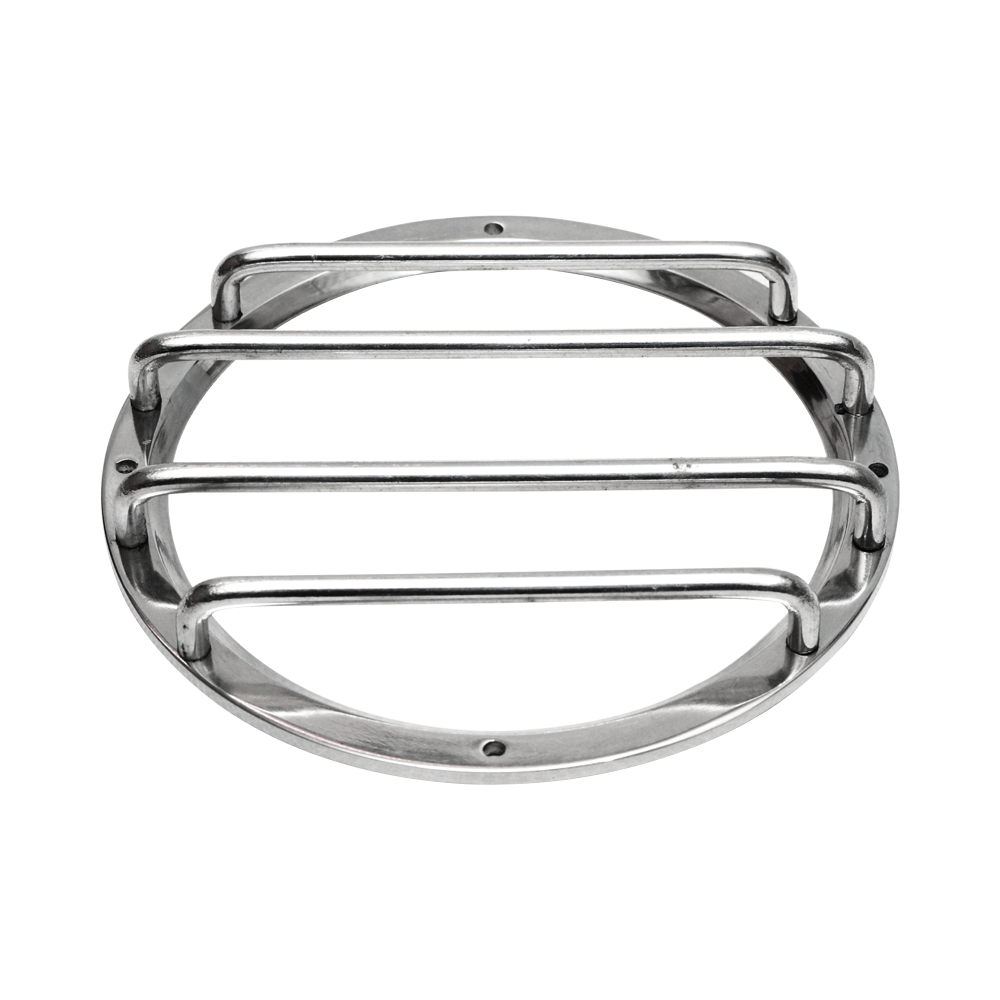 GRILL SUBWOOFER 5IN CHROME